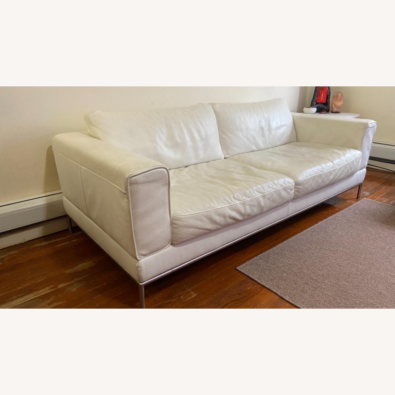 IKEA ARILD 3 Seater Sofa - White - image-1