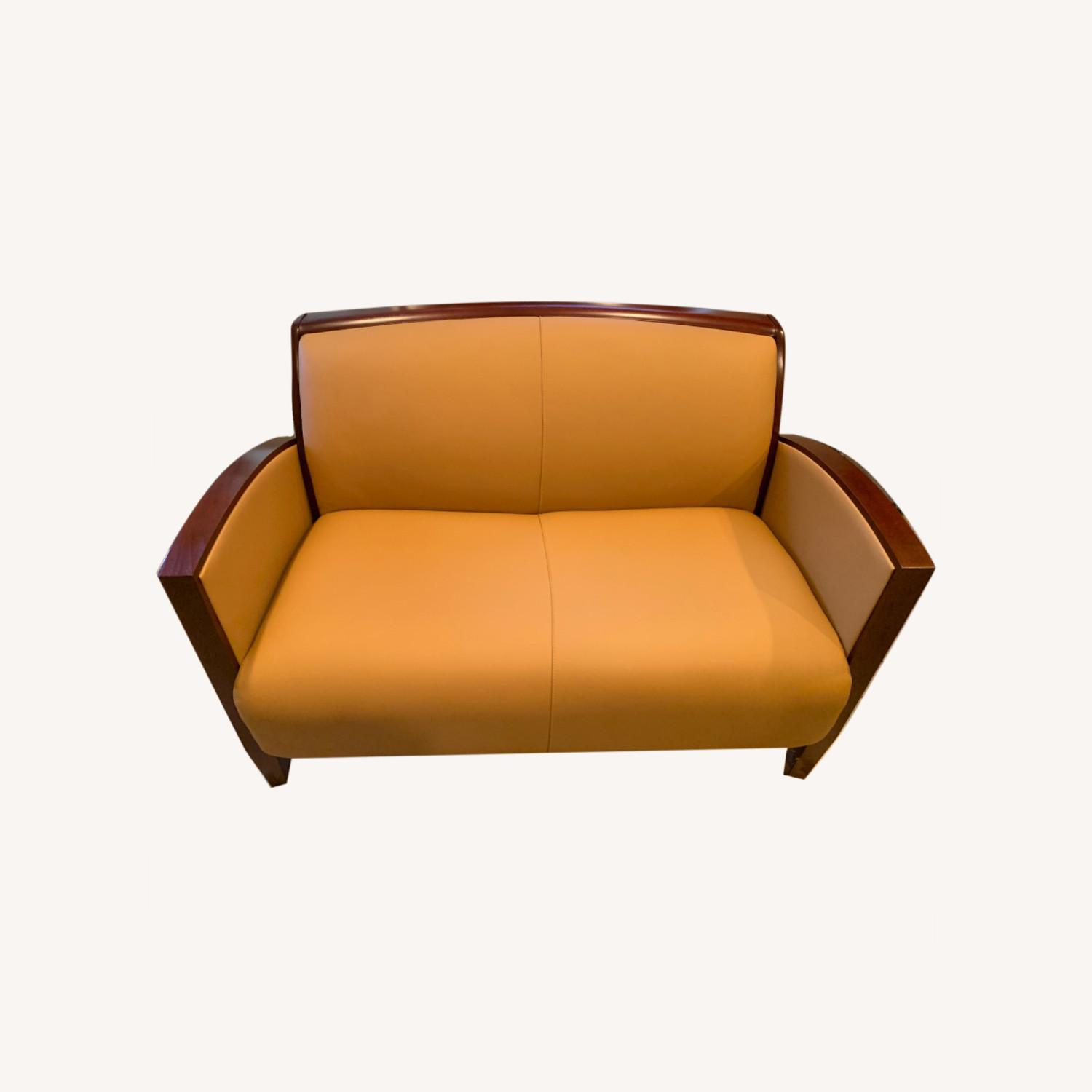 National Office Eloquence Leather Lounge Chair - image-0
