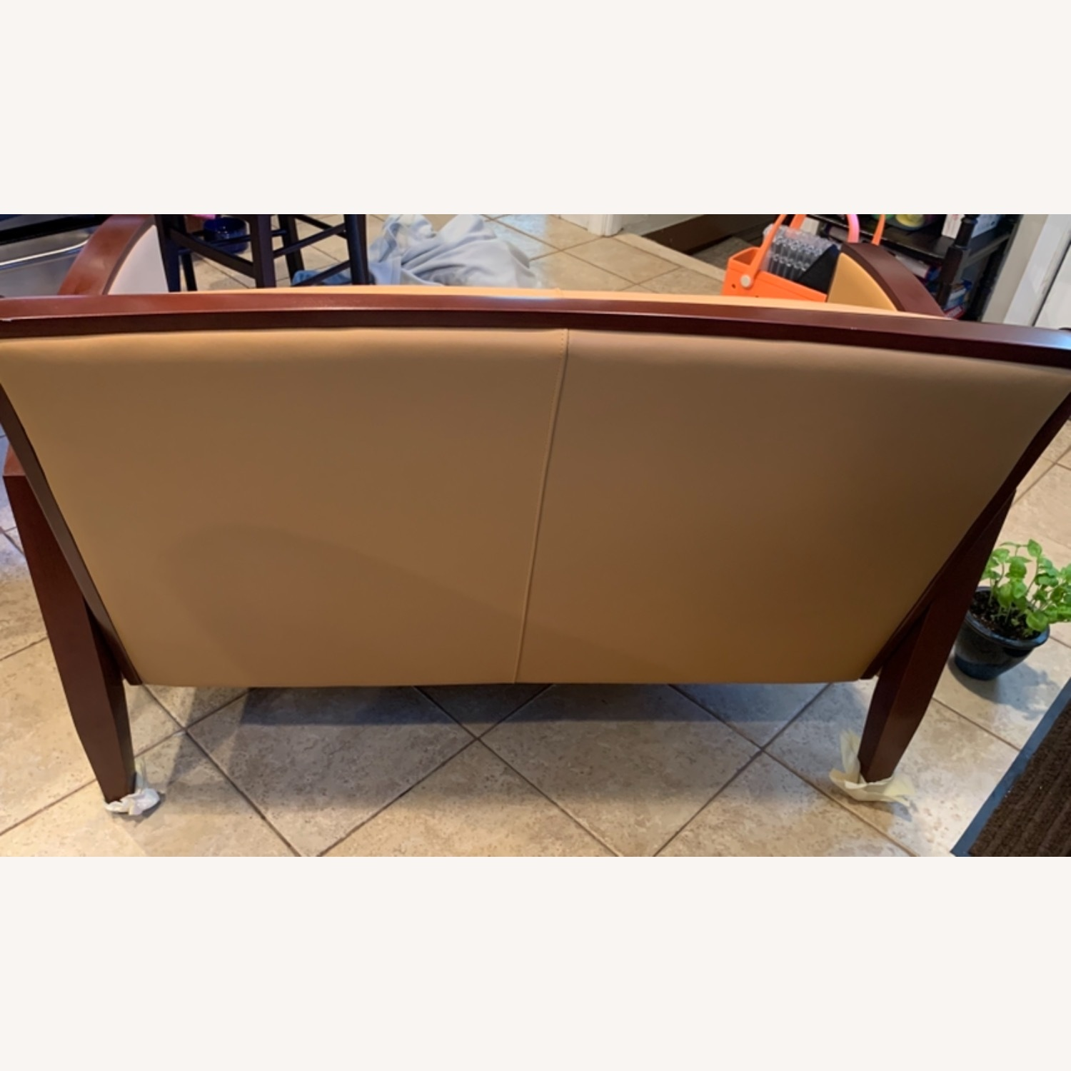National Office Eloquence Leather Lounge Chair - image-4