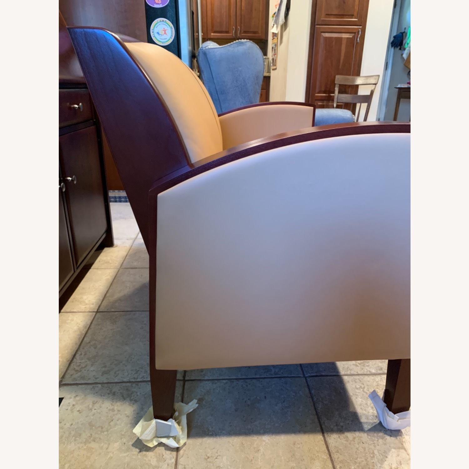 National Office Eloquence Leather Lounge Chair - image-5