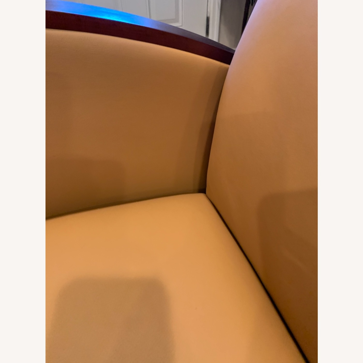 National Office Eloquence Leather Lounge Chair - image-6