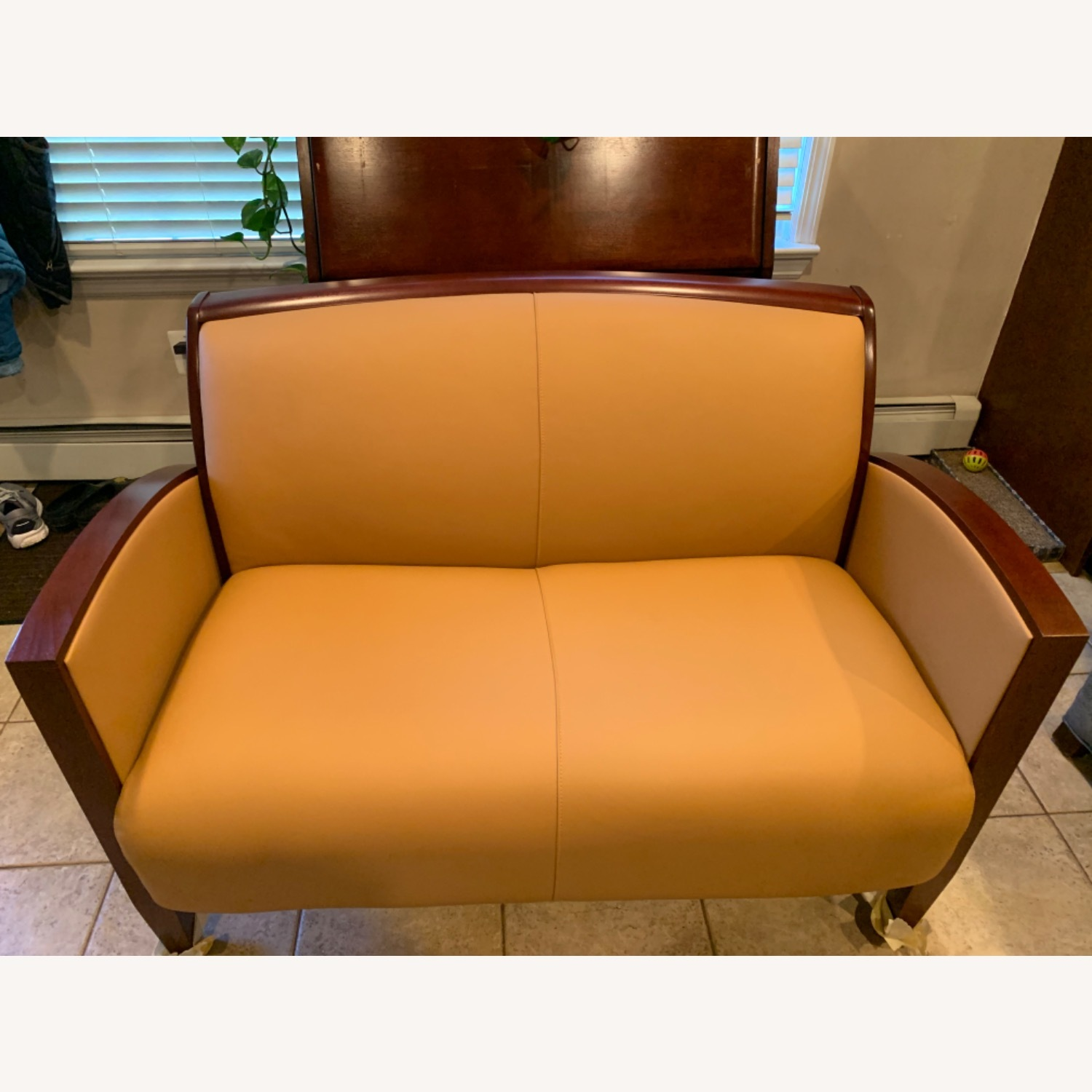 National Office Eloquence Leather Lounge Chair - image-8