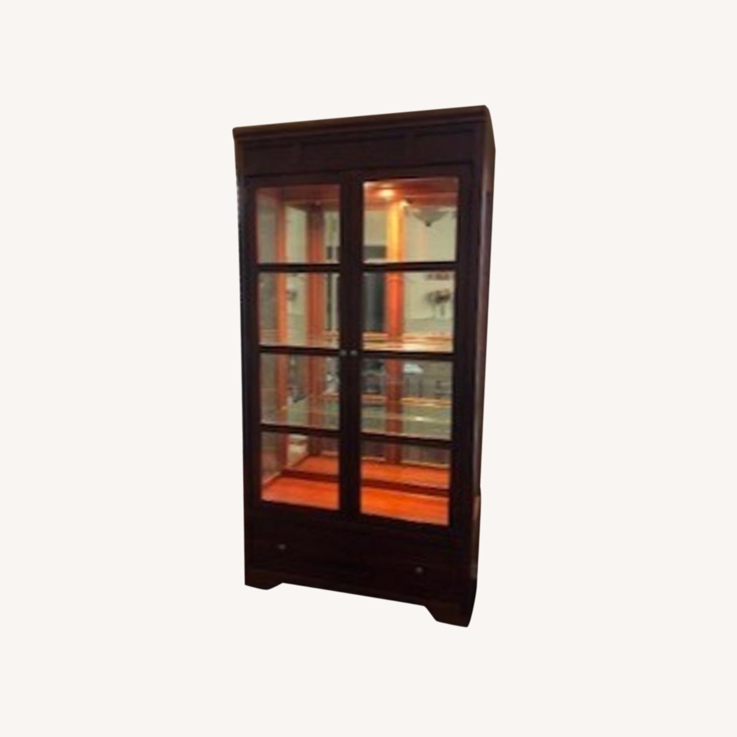 Stanley American View Curio Cabinet - image-0