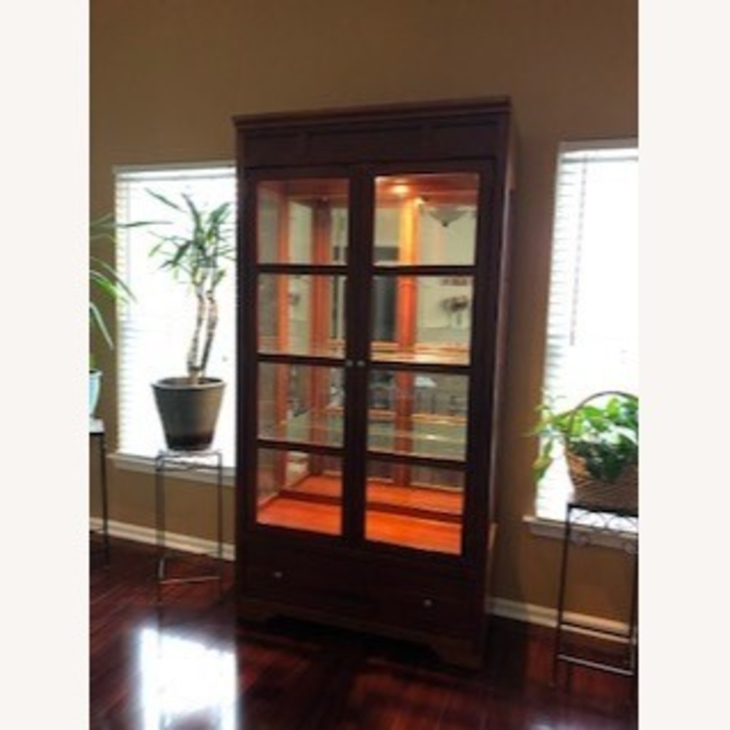 Stanley American View Curio Cabinet - image-1