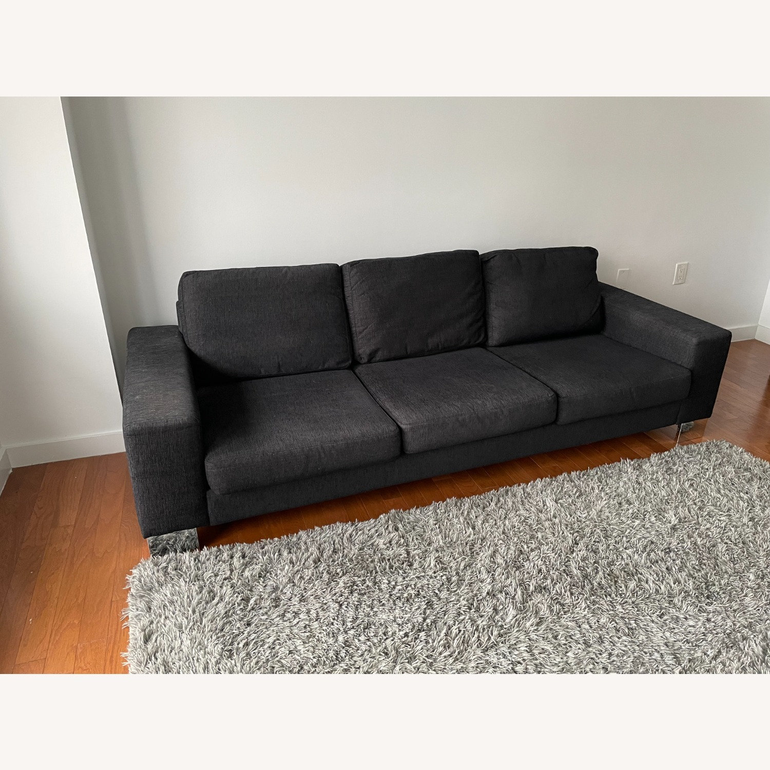 BoConcept 3-Seater Black Couch - image-2