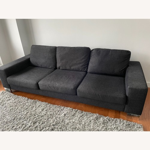 Used BoConcept 3-Seater Black Couch for sale on AptDeco