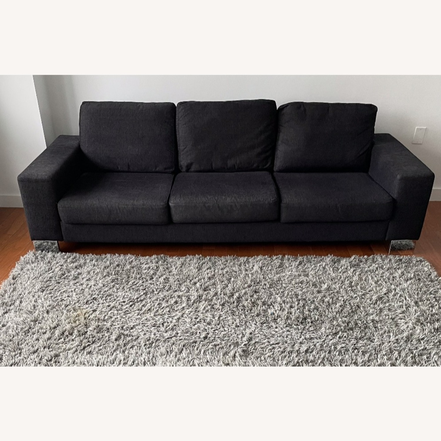 BoConcept 3-Seater Black Couch - image-8