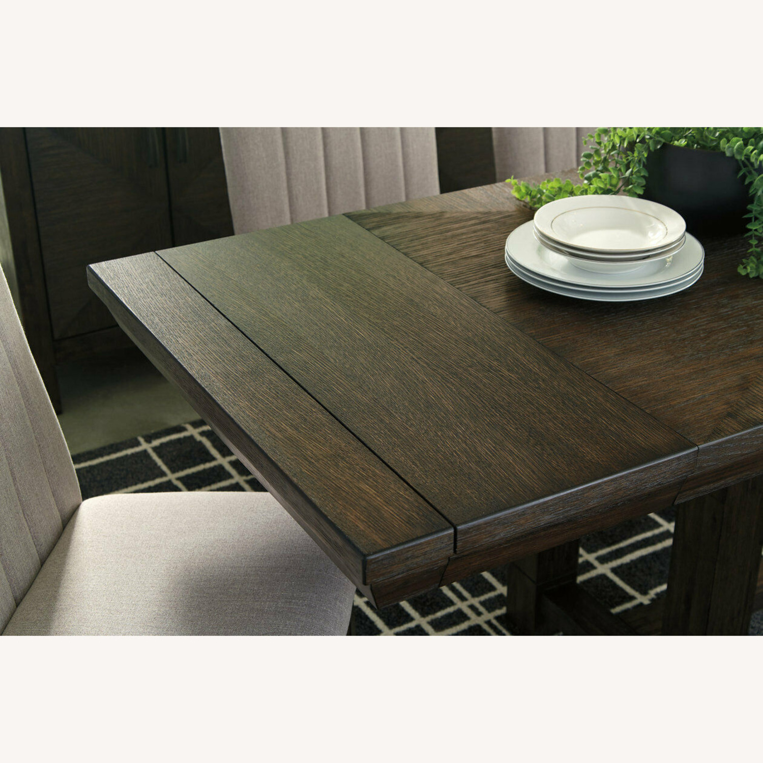 Ashley Furniture Dellbeck Extendable Dining Table - image-8