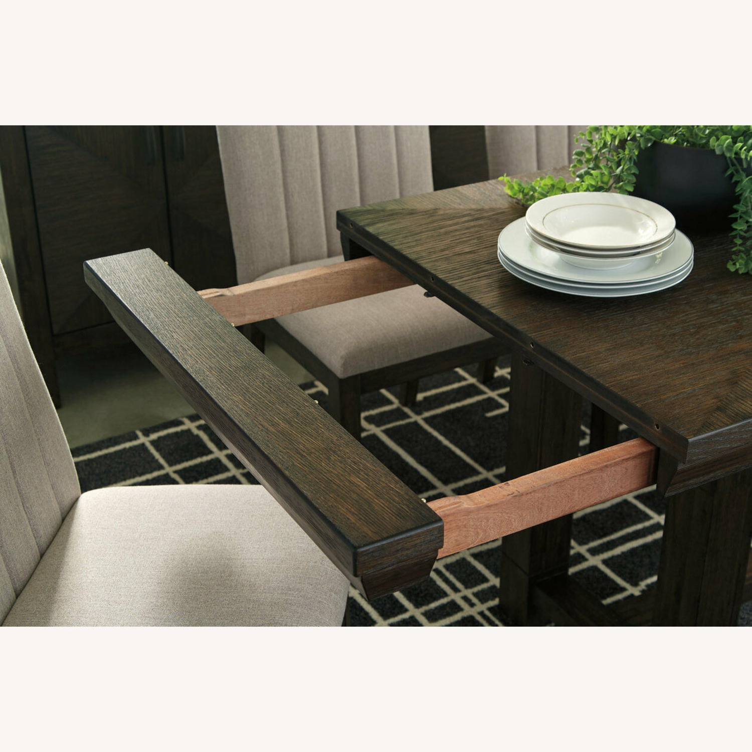 Ashley Furniture Dellbeck Extendable Dining Table - image-9