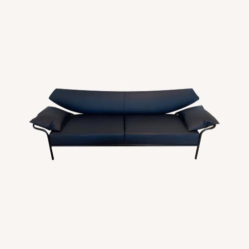 Used Bernhardt Design Ibis Leather Sofa for sale on AptDeco