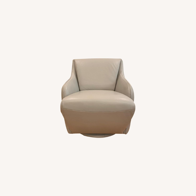 Scandinavian Designs Nikki Swivel Chair - image-0