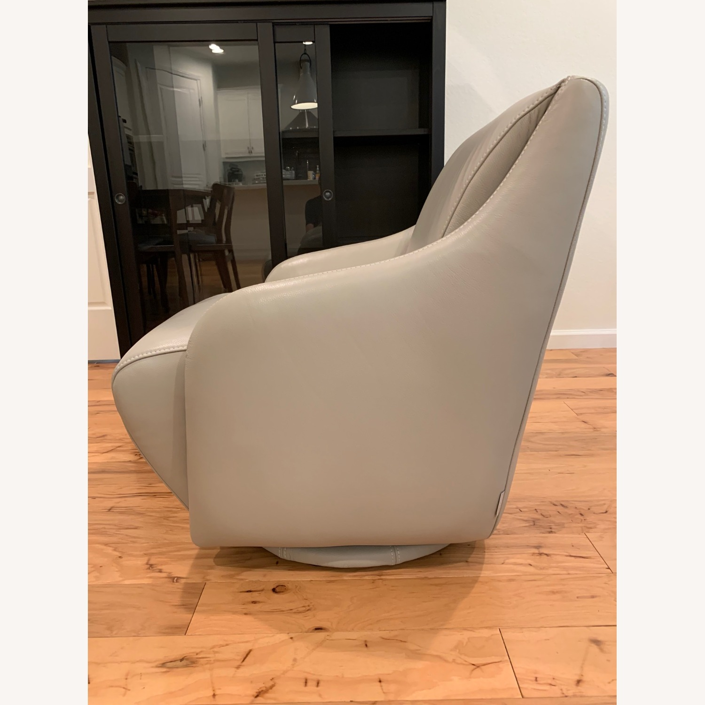 Scandinavian Designs Nikki Swivel Chair - image-2