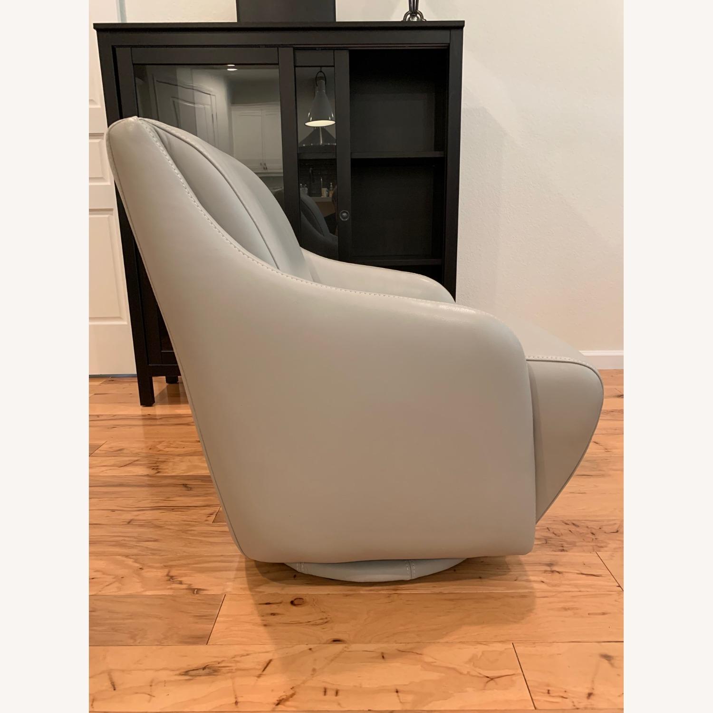 Scandinavian Designs Nikki Swivel Chair - image-4