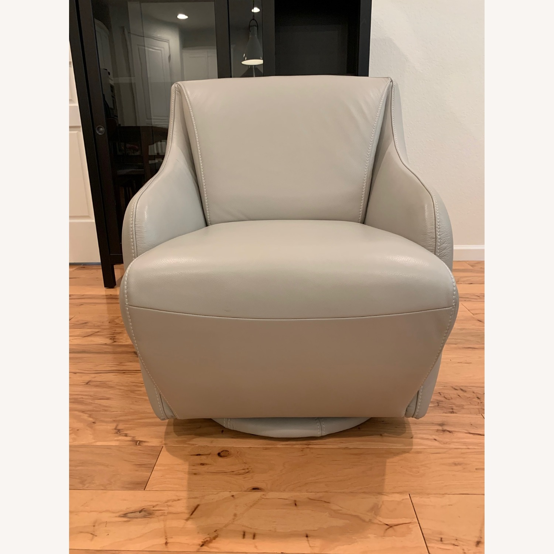 Scandinavian Designs Nikki Swivel Chair - image-1