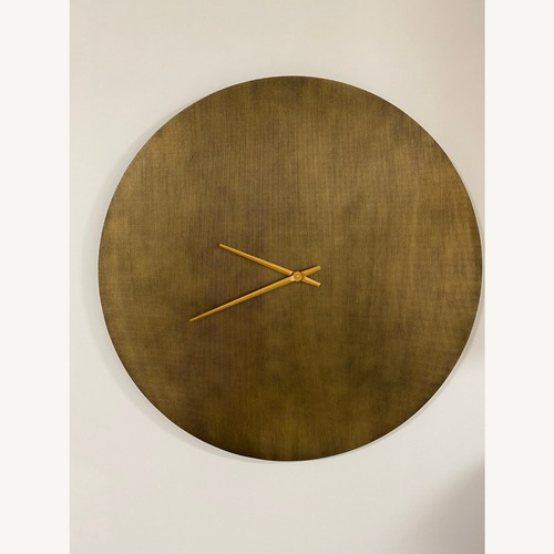 "Used Joss & Main Frary Oversized 35"" Wall Clock for sale on AptDeco"