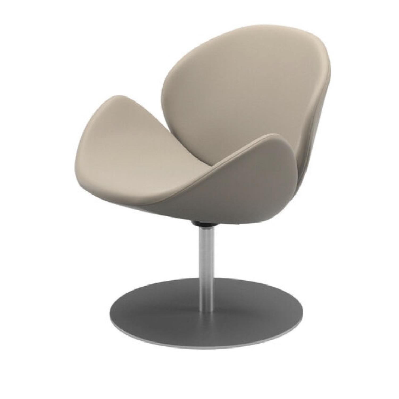 BoConcept Beige Swivel Arm Chair - image-7