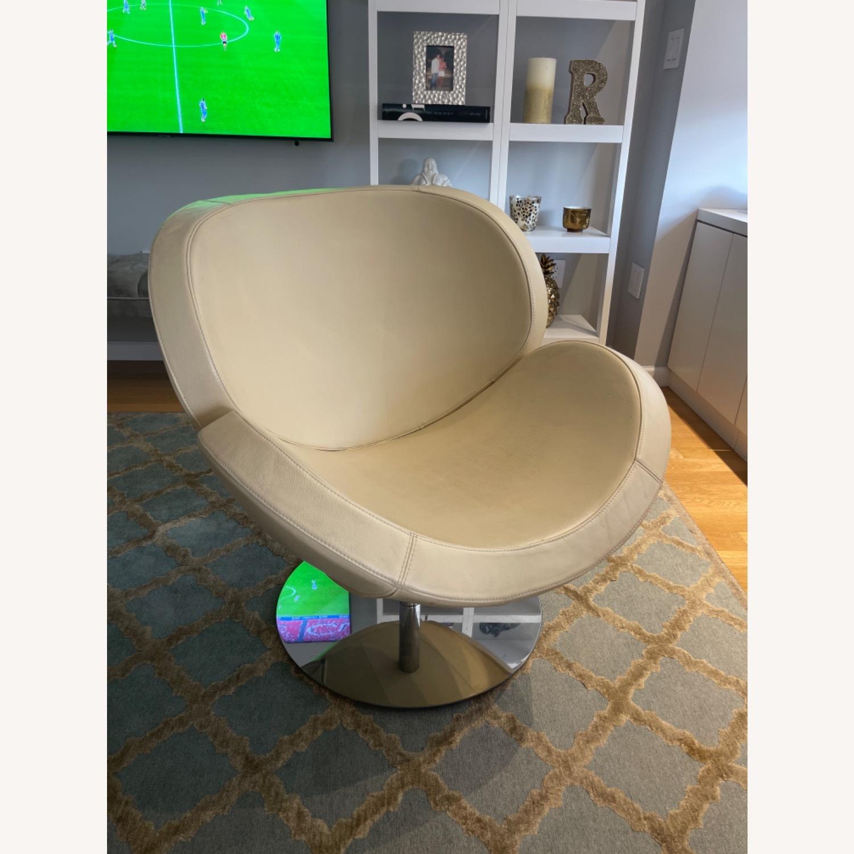 BoConcept Beige Swivel Arm Chair - image-16