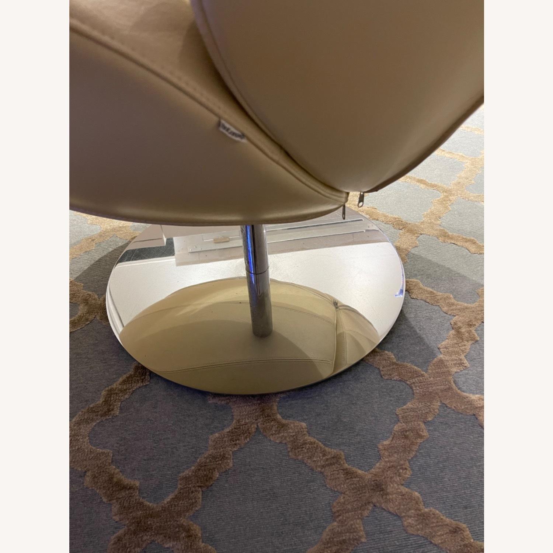 BoConcept Beige Swivel Arm Chair - image-6