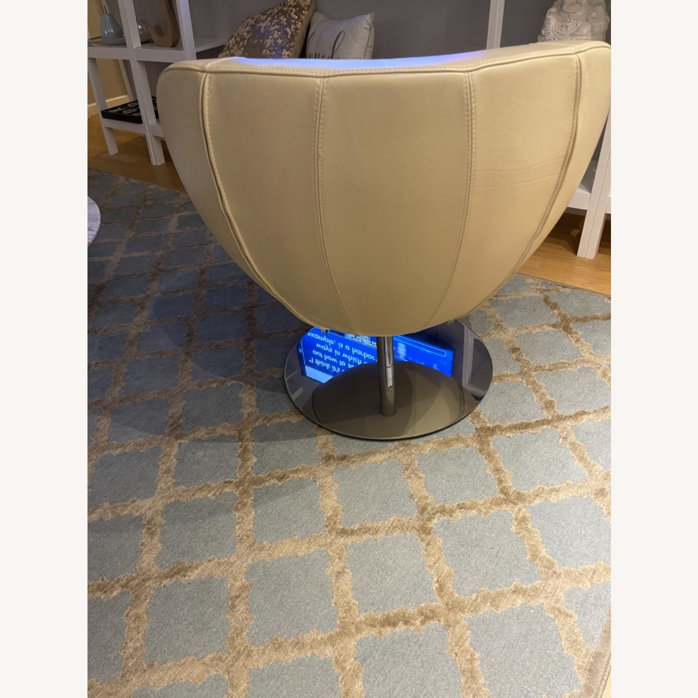 BoConcept Beige Swivel Arm Chair - image-5