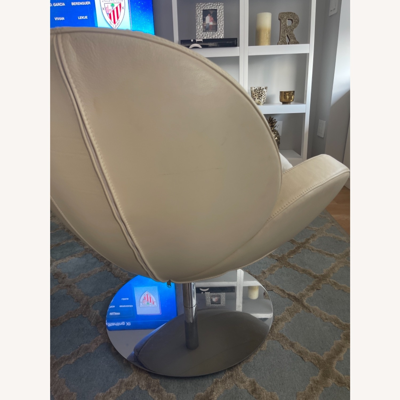BoConcept Beige Swivel Arm Chair - image-13