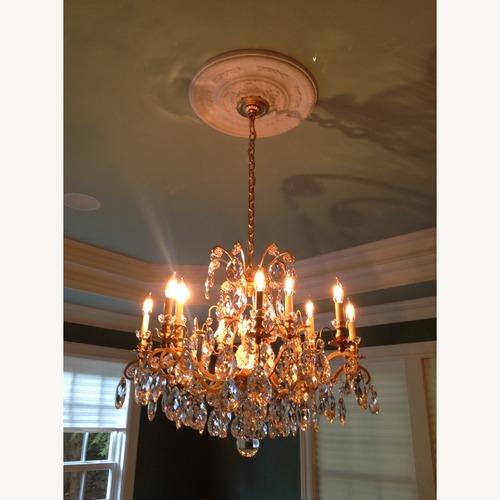 Used Schonbek Renaissance Crystal Chandelier for sale on AptDeco