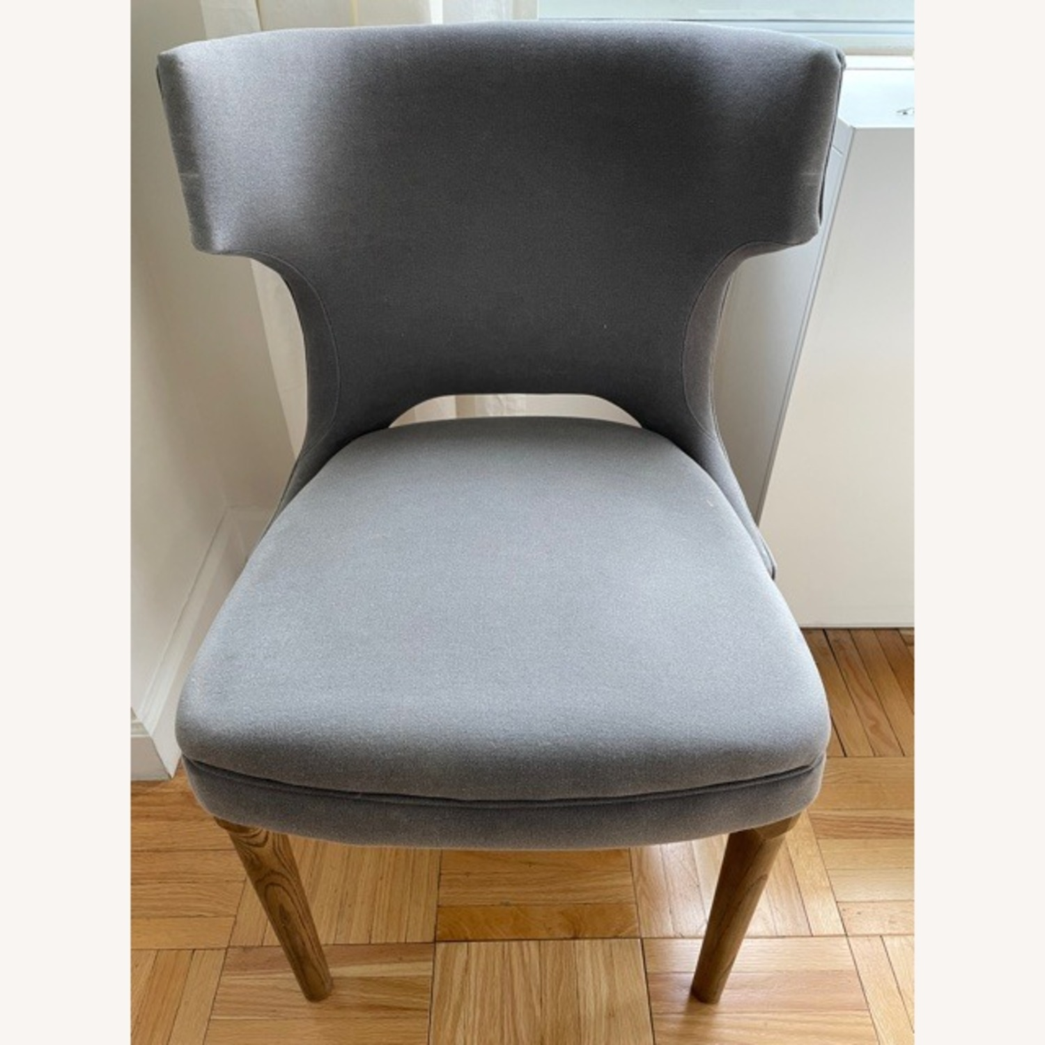 West Elm Nailhead Upholstered Chair - image-1