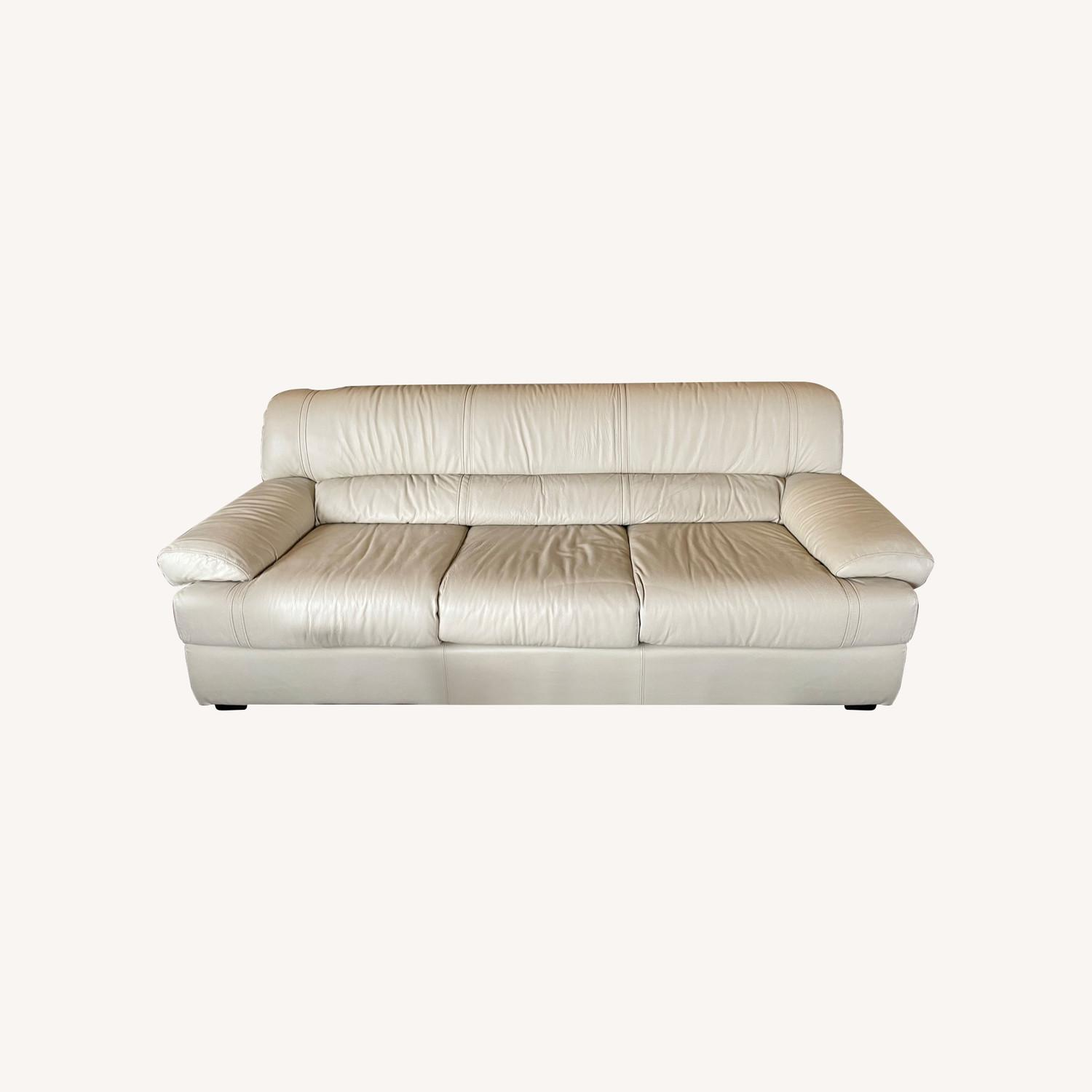 Leather Sofa Set Made in Italy - image-0