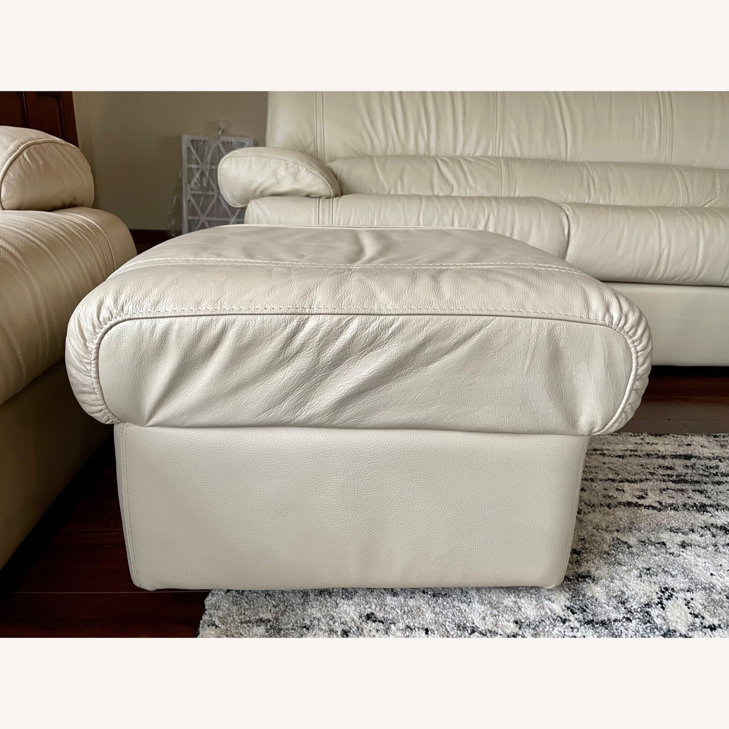 Leather Sofa Set Made in Italy - image-4