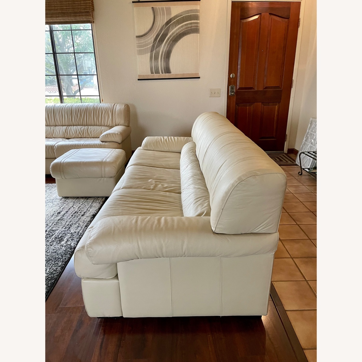 Leather Sofa Set Made in Italy - image-2