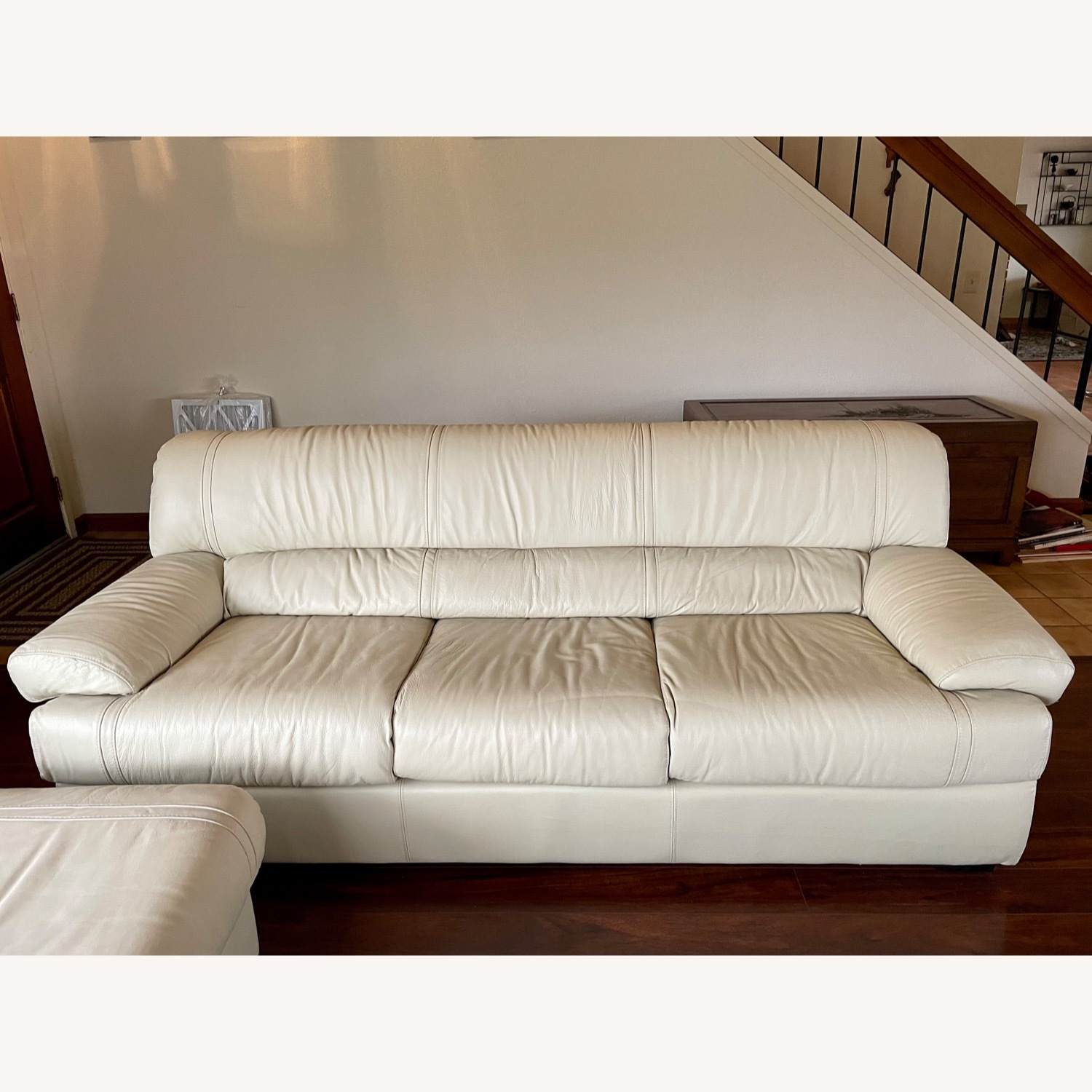 Leather Sofa Set Made in Italy - image-5
