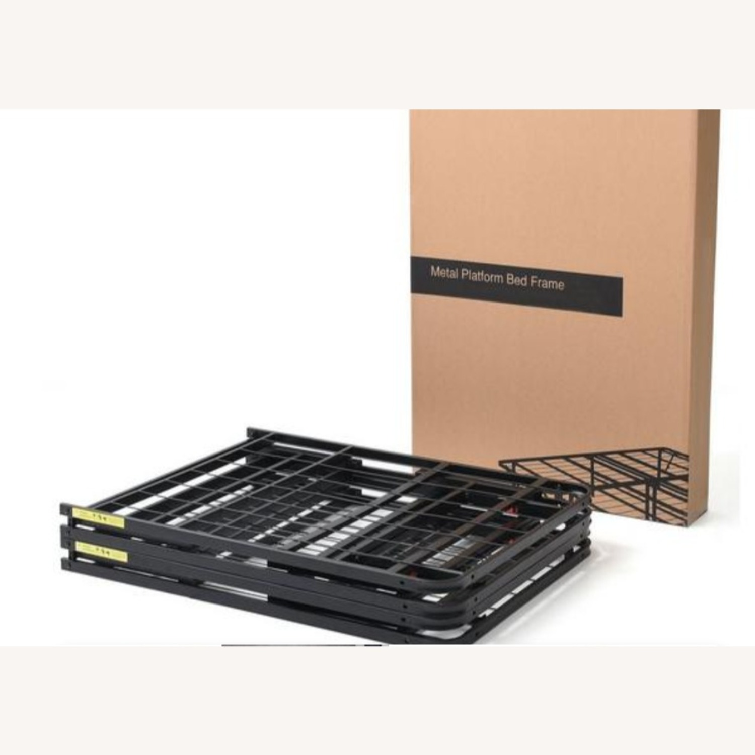 Raised Platform Frame (Easy Assembly) - Queen - image-2