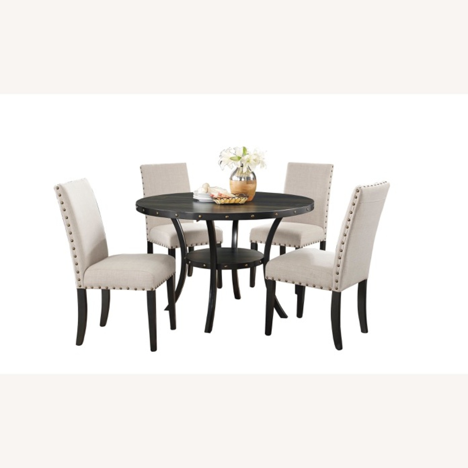 Wayfair Set of Gracie Oaks Upholstered Dining Chairs - image-2