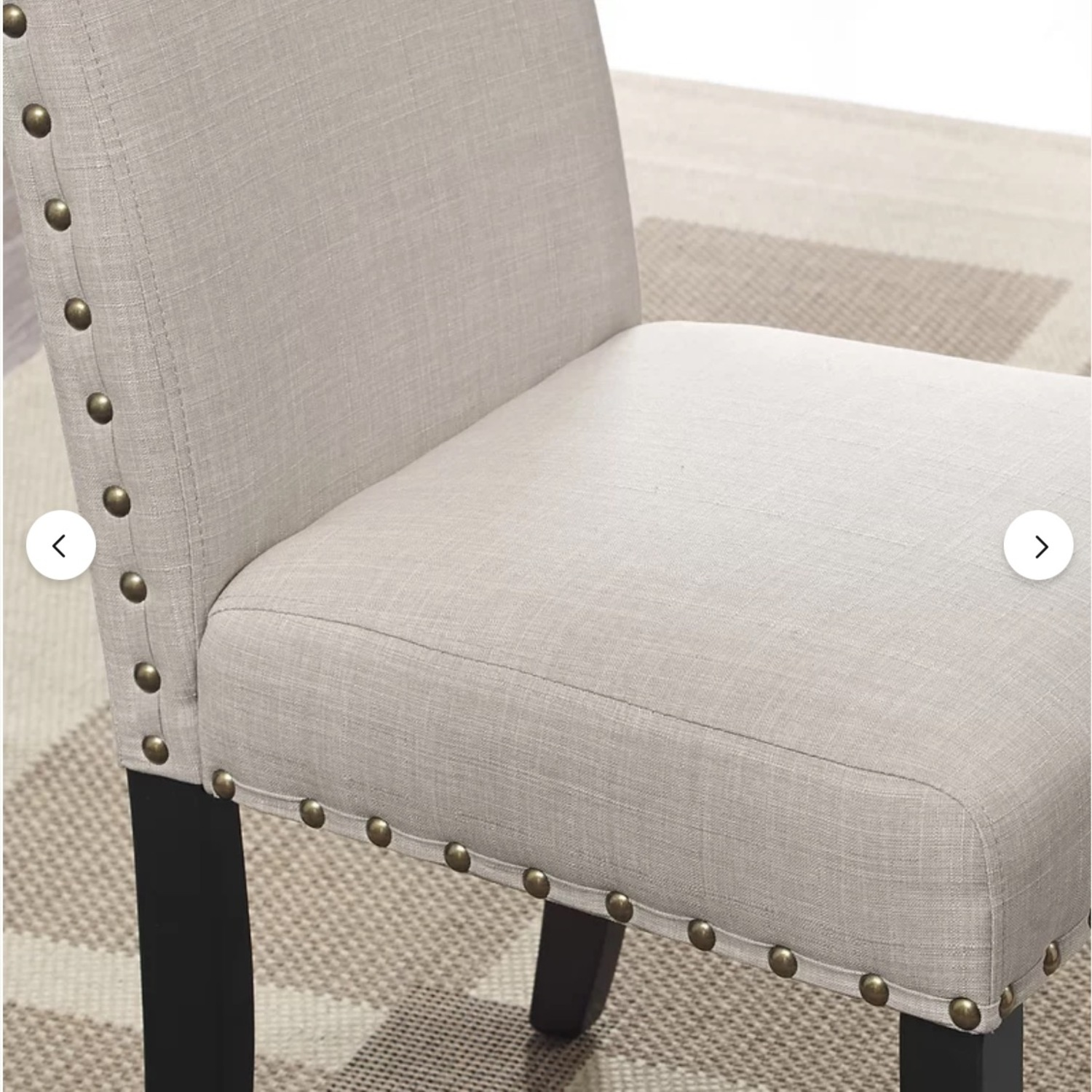 Wayfair Set of Gracie Oaks Upholstered Dining Chairs - image-3