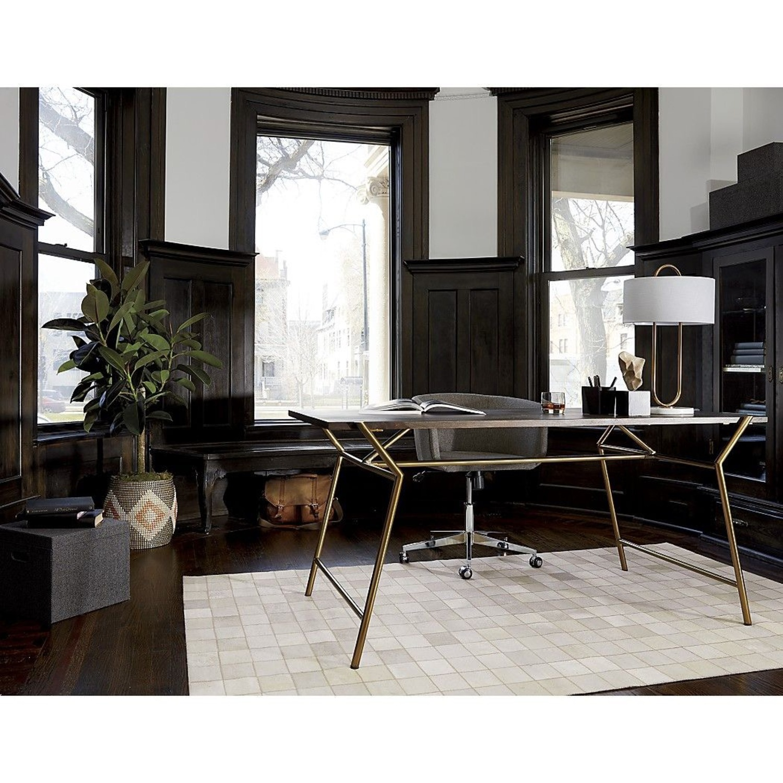 CB2 Flynn Desk - Chic Art Deco - image-5