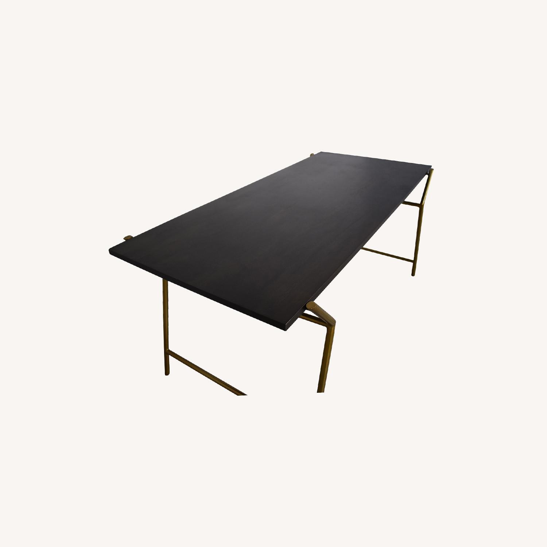 CB2 Flynn Desk - Chic Art Deco - image-0