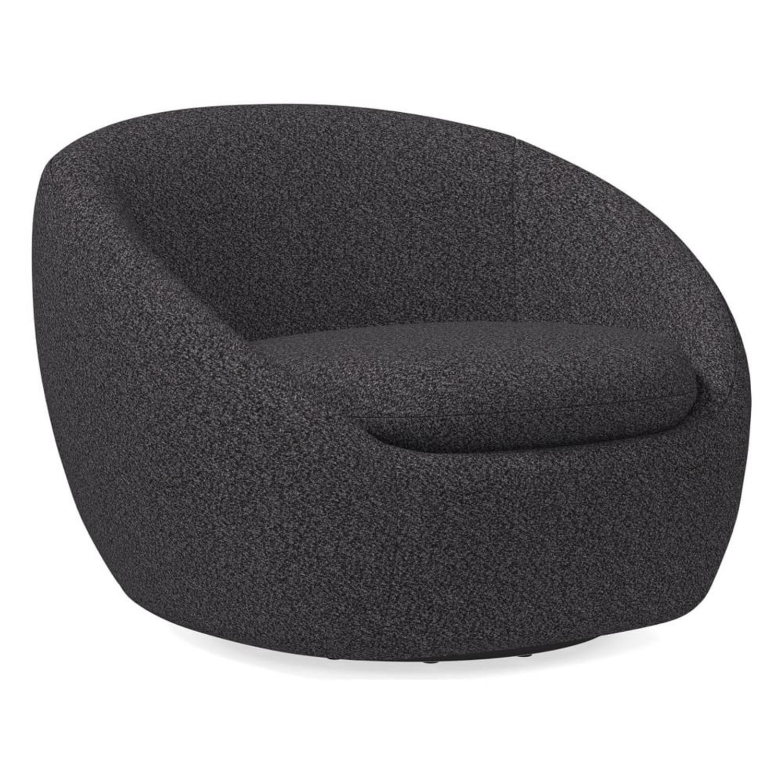 West Elm Cozy Swivel Chair - image-1