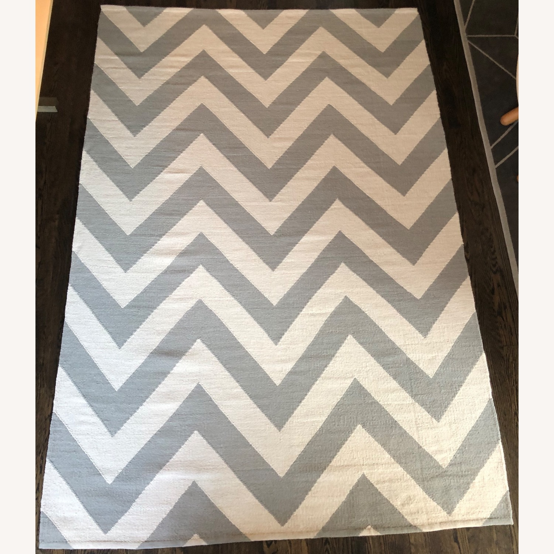 Jonathan Adler 6x9 Herringbone Flat Weave Rug - image-6