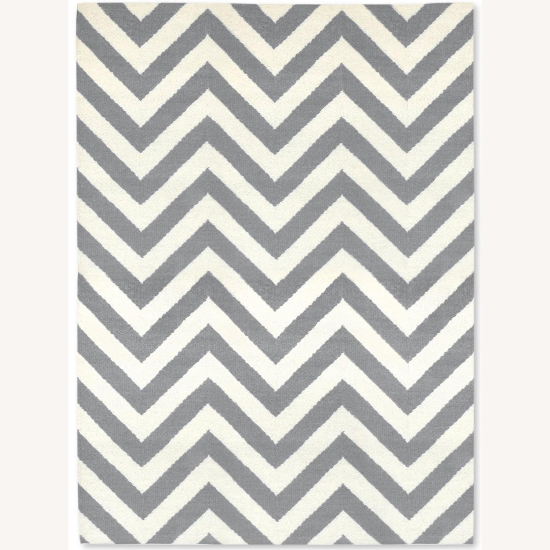Jonathan Adler 6x9 Herringbone Flat Weave Rug - image-1