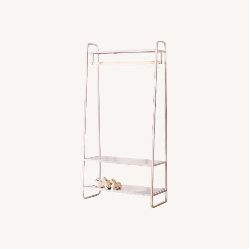 Used Urban Outfitters Lilac Clothing Rack for sale on AptDeco