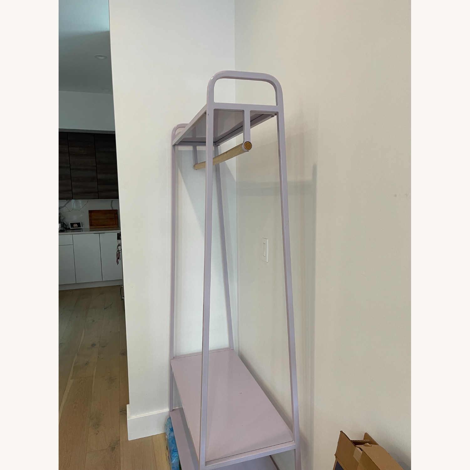 Urban Outfitters Lilac Clothing Rack - image-4
