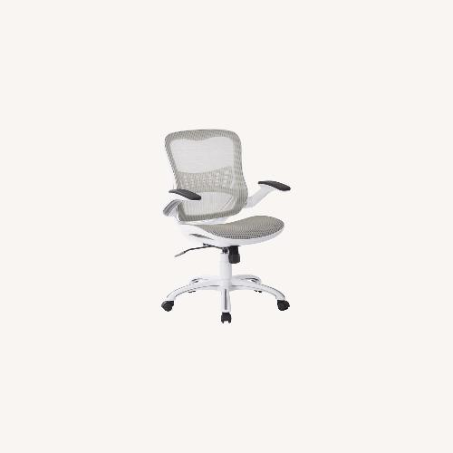 Used White Mesh Office Chair for sale on AptDeco