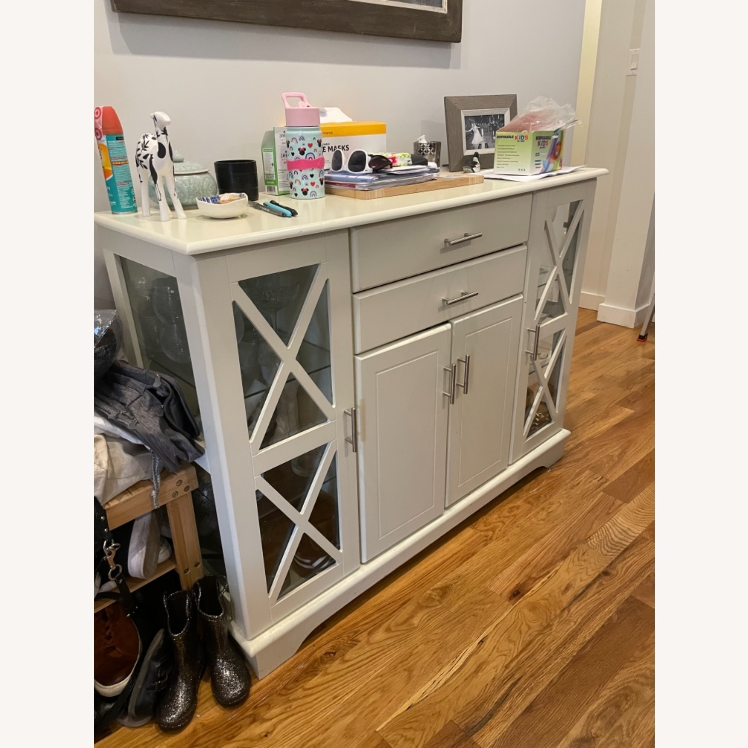 Andover Mills White Sideboard/ Buffet - image-1