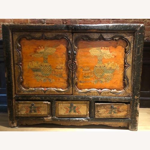 Used Tibetan Hand Painted Cabinet for sale on AptDeco
