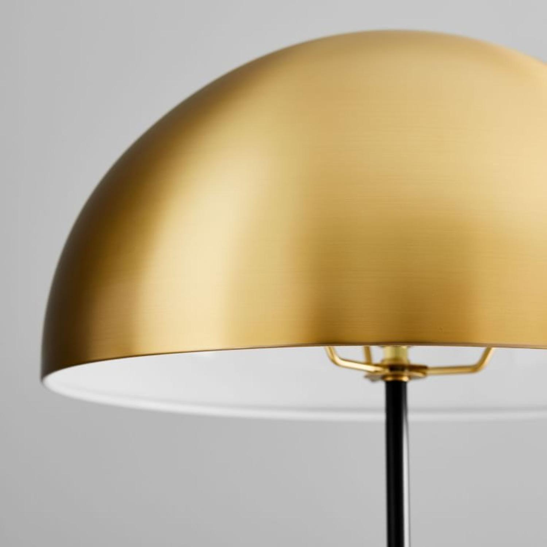 West Elm Hudson Floor Lamp, Antique Brass - image-2
