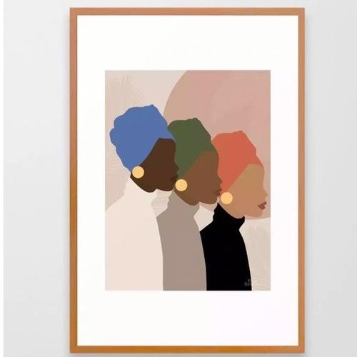 Used Society Social Homebound 26x38 Framed Print for sale on AptDeco