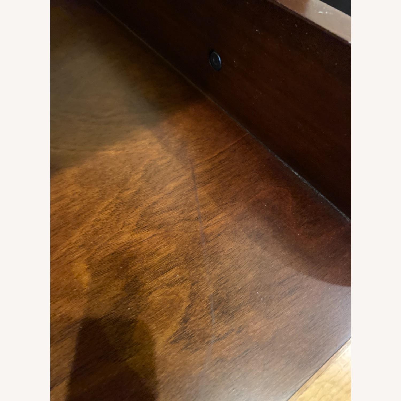 Pottery Barn Espresso Ladder Bookcase - image-5
