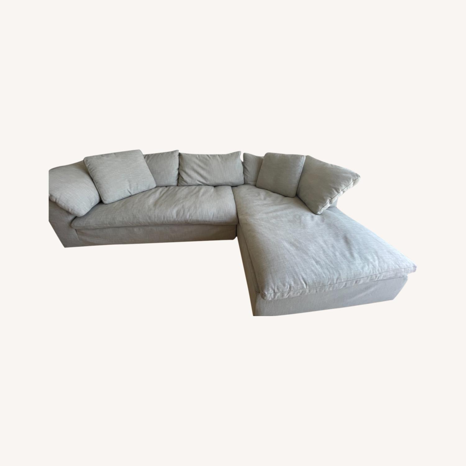 Restoration Hardware Cloud Couch - image-0