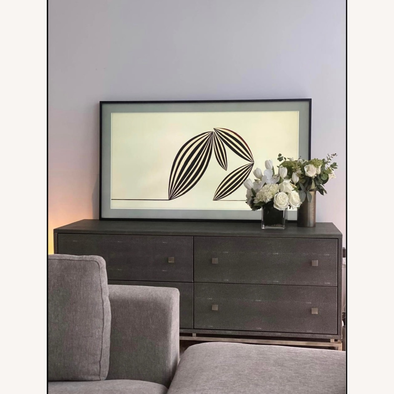 CB2 Shagreen Low Dresser - image-1