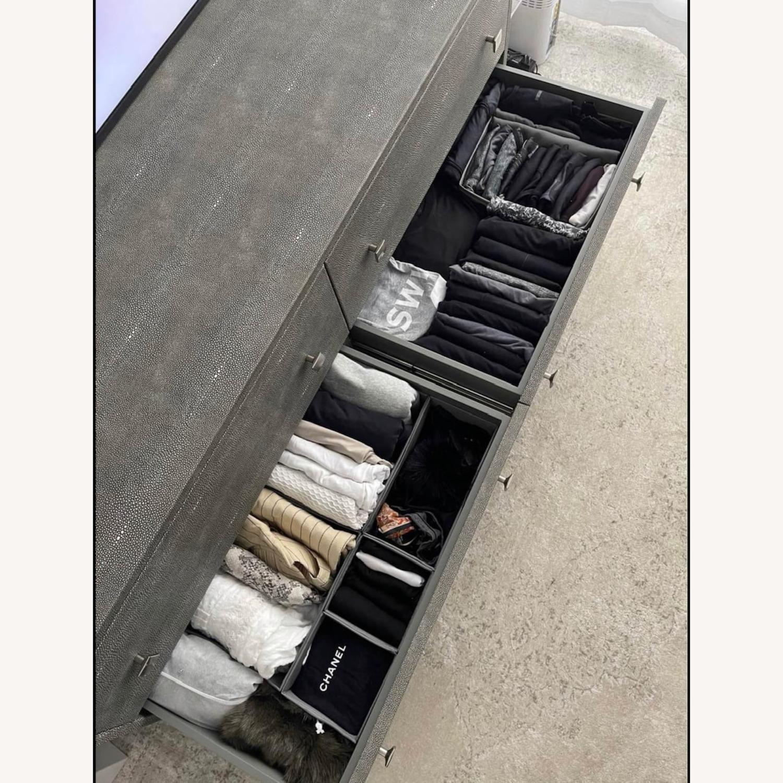 CB2 Shagreen Low Dresser - image-2