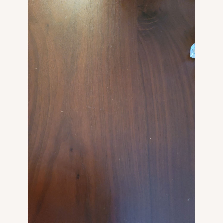 Walnut Wood Office Writing Desk - image-4